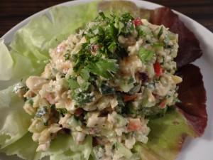 Raw Reissalat thailändischer Art