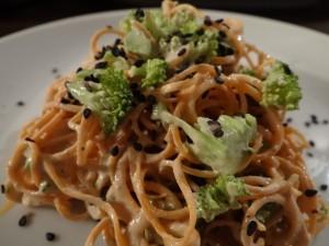 Raw Spaghetti Sesamo