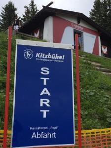 Rennstrecke Streif Tirol
